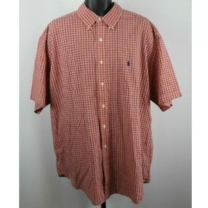 Ralph Lauren Checkered Short Sleeve Shirt